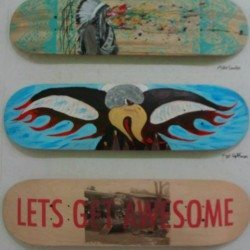 Skate Deck Art Gallery