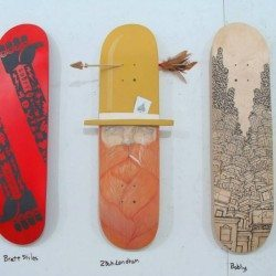 Skate Deck Art Gallery