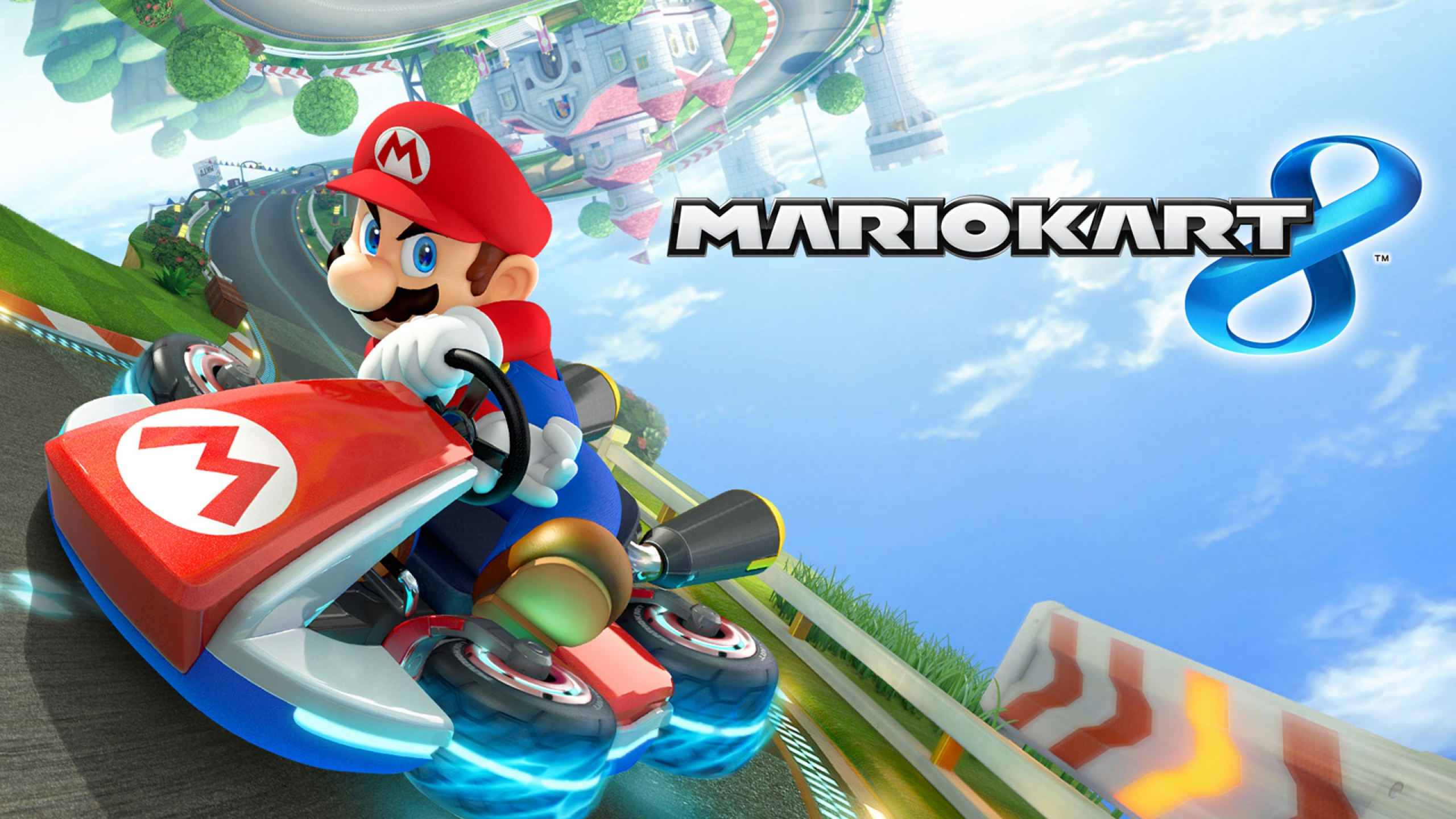 Gamer Review Mario Kart 8 Finally Catches Up To Hd Graphics On