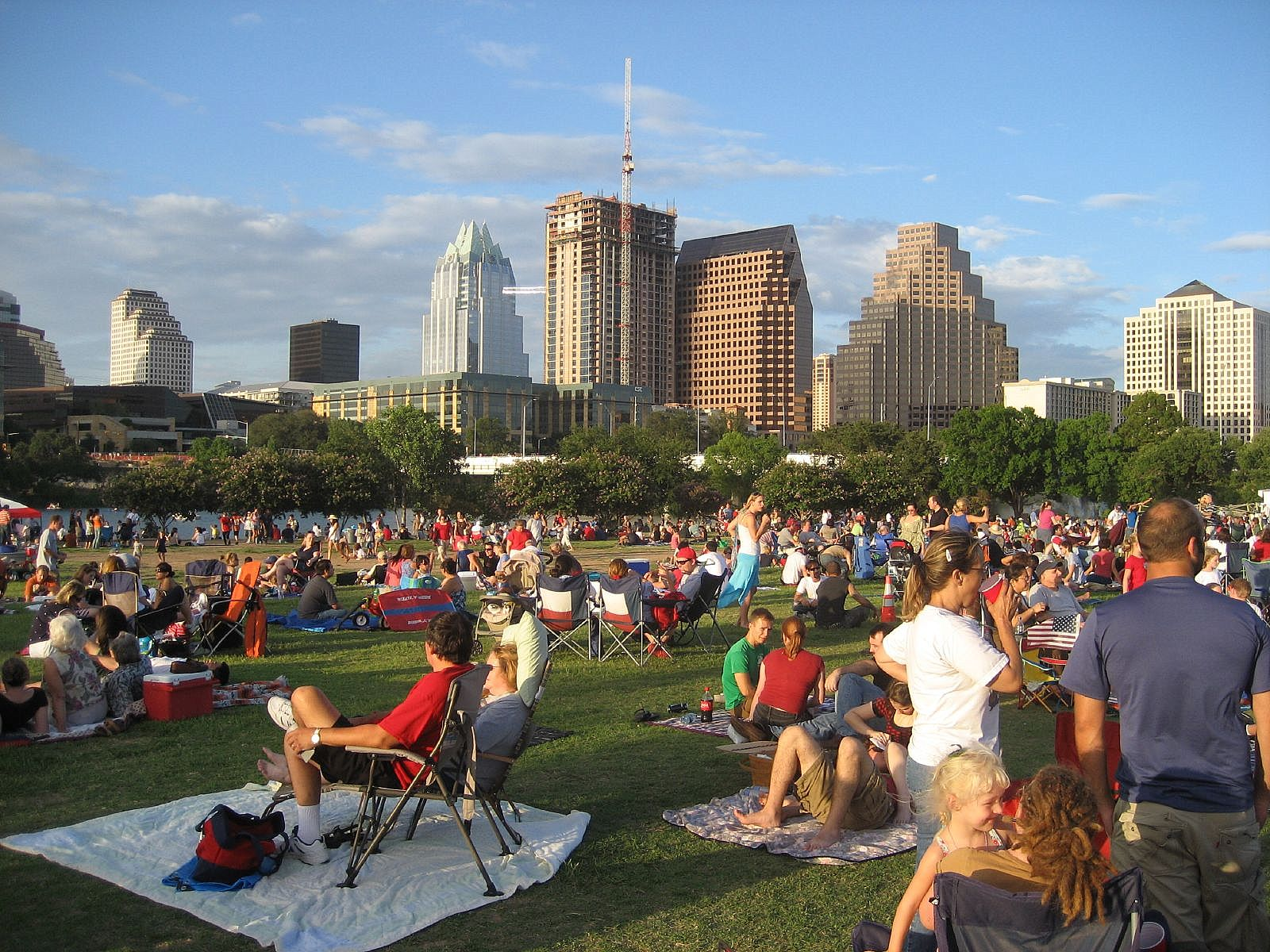 Auditorium Shores in Austin,TX