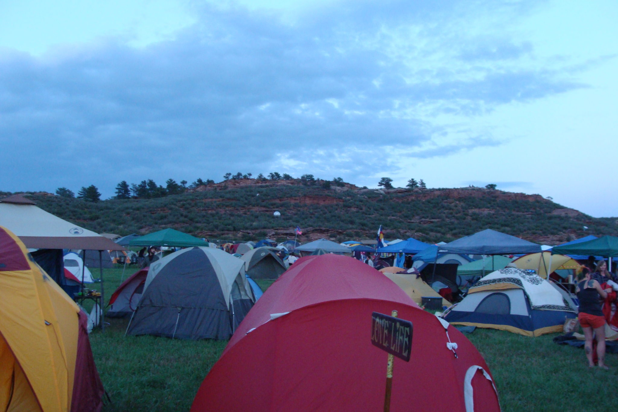 Home Away from Home: Tent City