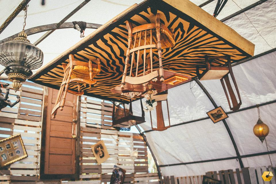 The Upside Down Room, another festival creation by Imagine Nation