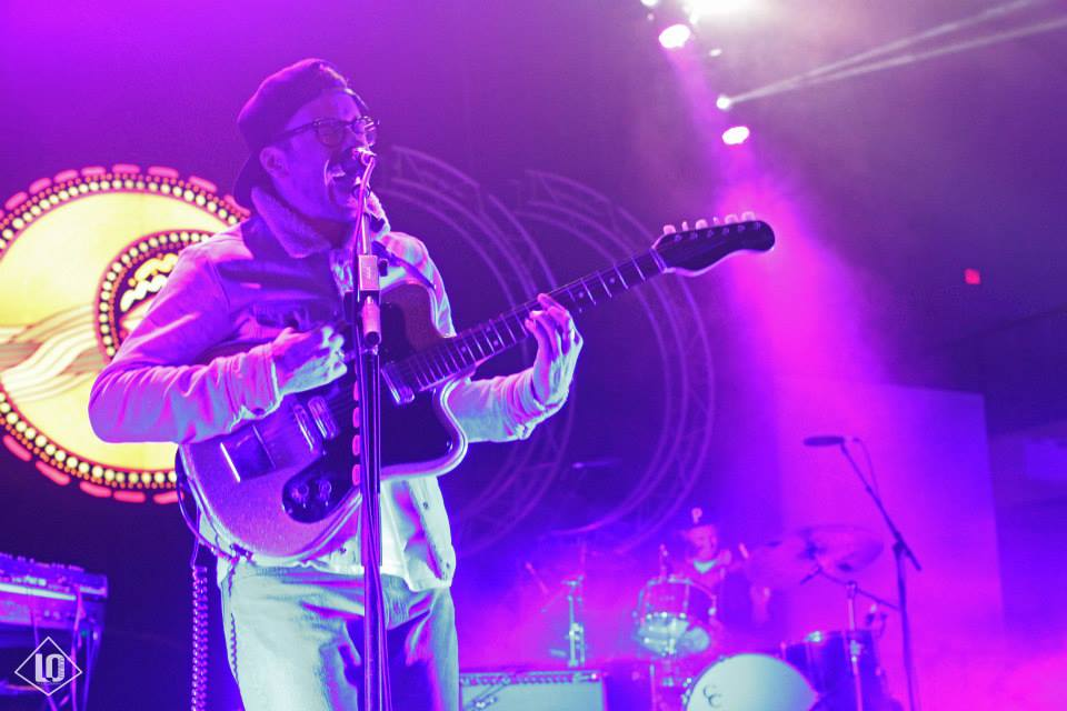 Portugal the Man at BUKU Music + Art Project 2015. Photo by Lauren Pinkney