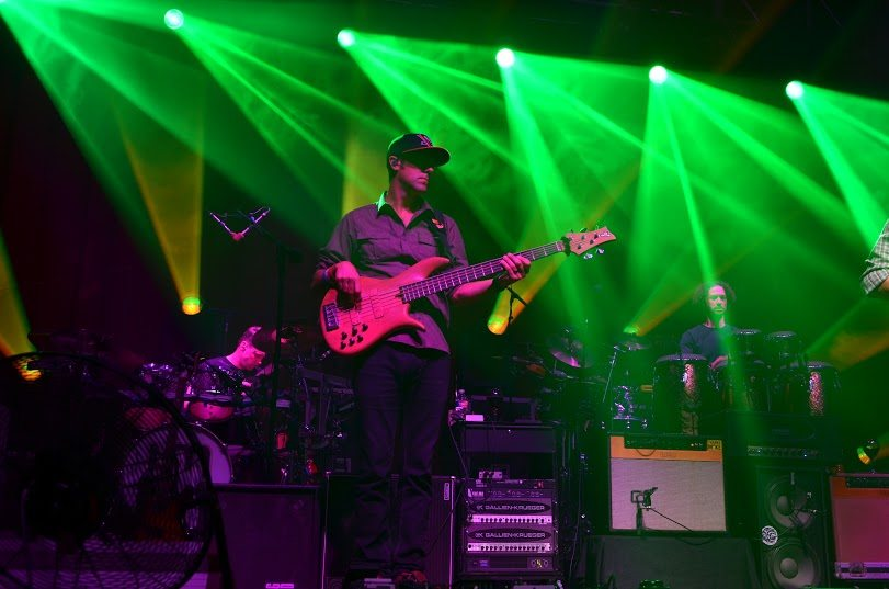 Umphrey's McGee performing at House of Blues in Dallas, TX. April 16th, 2015. Shot by Mary Jo Sparks.