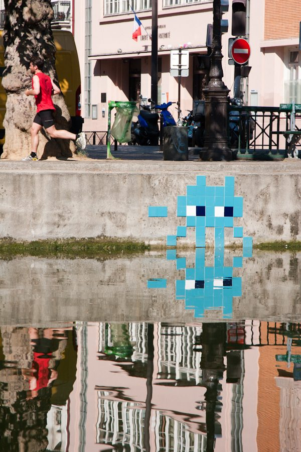 Space Invader @ Paris (France) Lionel Belluteau