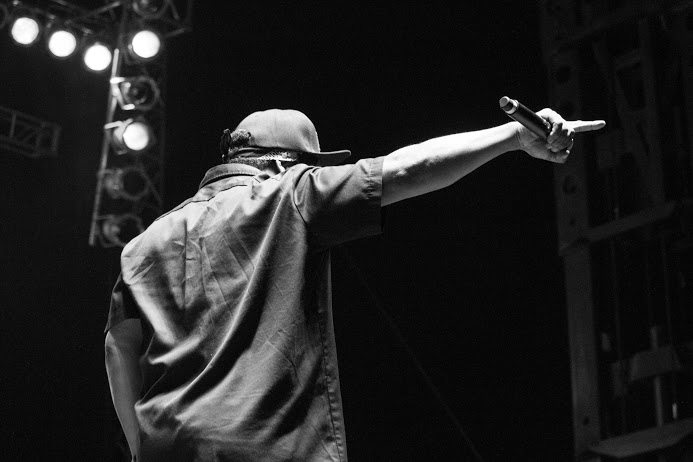 Ice Cube performs at Riot Fest in Denver, Colorado on August 28. Stacey Rupolo
