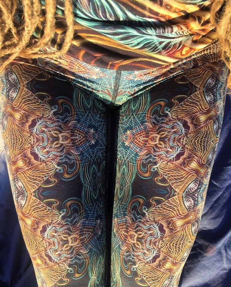 "Yoga leggings from ""THE SHAMAN"""