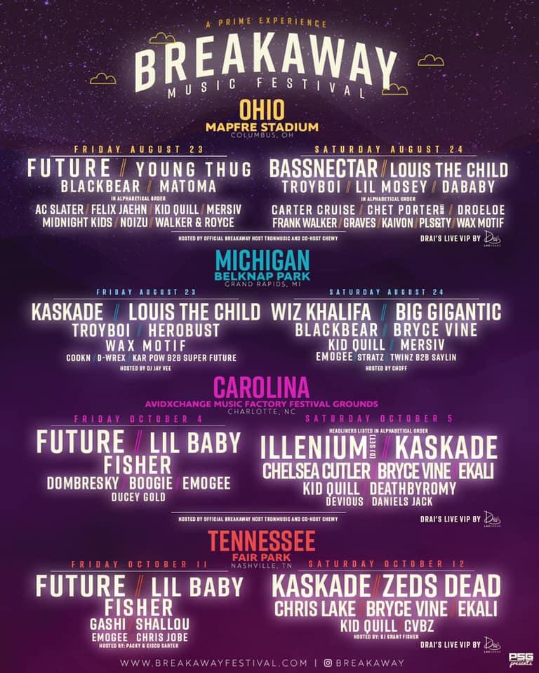 Breakaway Music Festival Stops in Columbus for a Multi-Genre